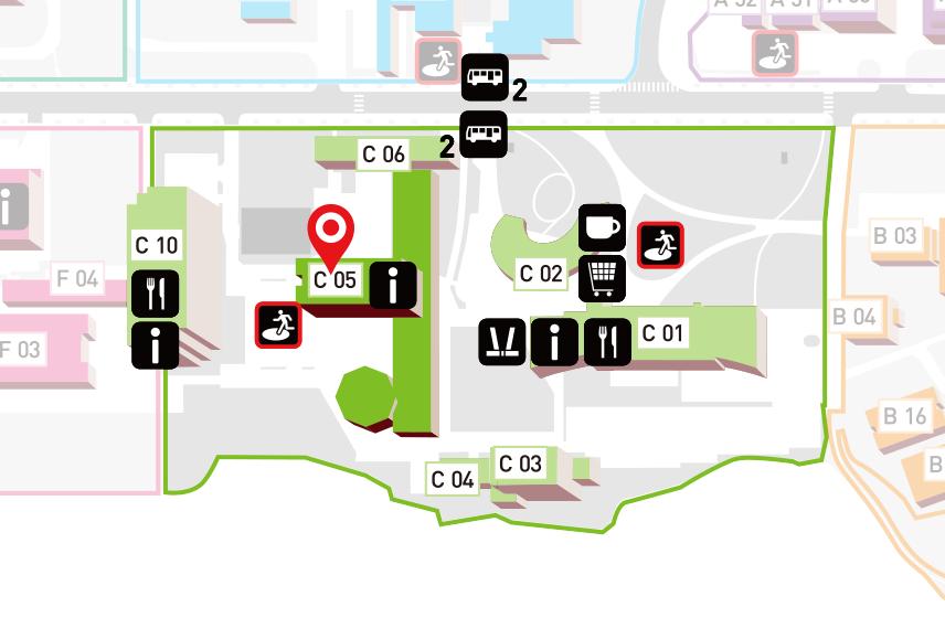 Campus Map | School of Engineering, Tohoku University